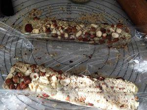 Croquants au Roquefort et aux noisettes