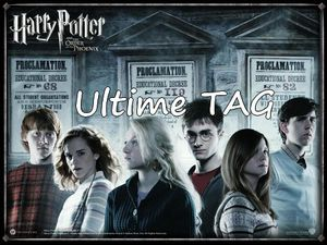 L'ultime TAG Harry Potter