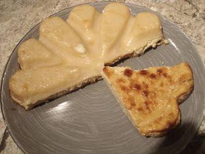 Verrines de betteraves et flan pâtissier sans pâte