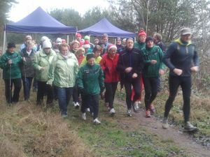 Adventslauf in Wischer