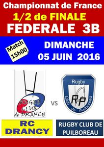 1/2 FINALE - FEDERALE 3 EXCELLENCE B