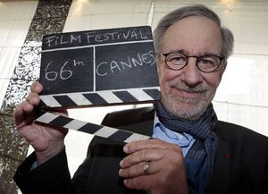photo de Steven Spielberg pour Cannes (picture of Steven Spielberg for Cannes)