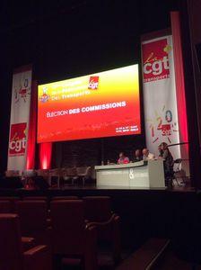 Le 52ème congrès de la Fédėration des transports