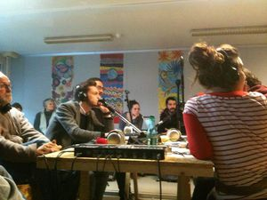 Radio grenouille au TRI
