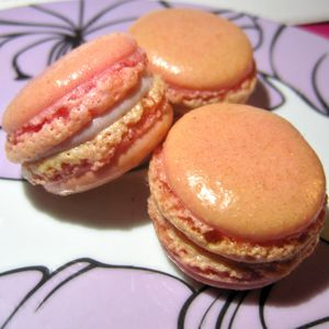 Mes premiers macarons.