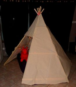 Tipi home made