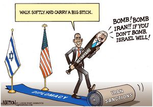 Bibi et Obama
