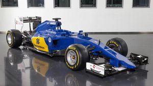 F1 2015 : en bleu et jaune, la C34 espère redonner des couleurs à Sauber