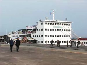Transports : Premier voyage de l'ITB Kokolo à destination de Kisangani
