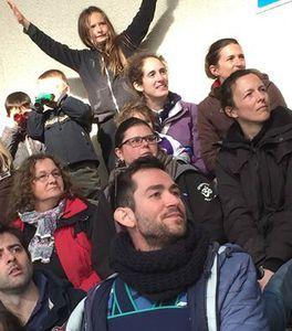Les supporters de l'OLHB