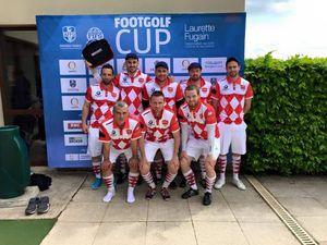 L'équipe de Reims FootGolf Champagne