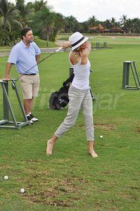 Ces célébrités qui jouent au golf