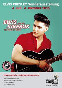 Plakat Elvis und die Jukebox
