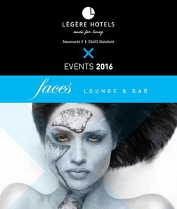 faces Lounge & Bar - Events 2016