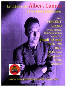Présence du TRAC au Festival International de Montreal (Canada) avec le Théâtre d'Albert Camus
