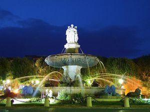 Aix-en-Provence avec ses lumières