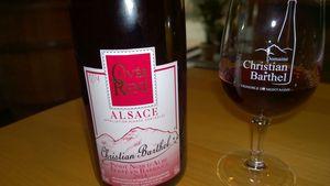 Alsace, Barthel, Pinot Noir Cuvée René, 2014
