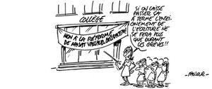 En grève pour le retrait pur et simple de la réforme du collège