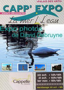 exposition photos la mer et l'eau a CAPP' EXPO