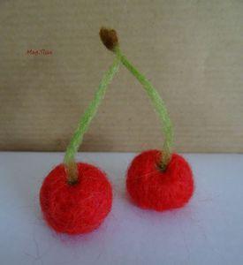 Mes Bricoles en laine feutrée à poser sur la table