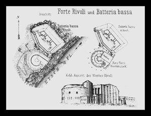 I forti di rivoli e della valdadige for Piani di cabina della torre di fuoco