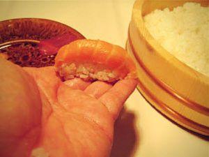 Recette Wok'n Rolls de Sushis Nigiri