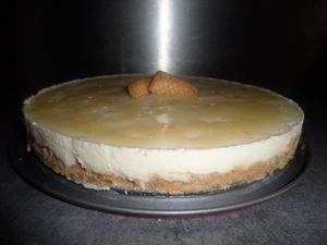 CheeseCake à la vanille sans cuisson !