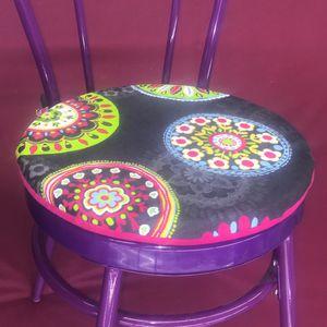 Tuto DIY coudre des galettes de chaises