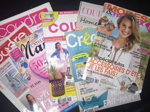 Mes inspirations Couture, Magazines et Internet.