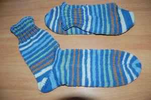 Tricot n°35 Chaussettes pour Saliou