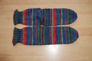 Tricot n°34 Chaussettes Albert