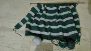 Tricot n°11 Gilet pour Diego
