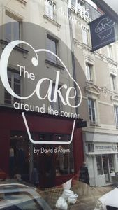The cake around the corner