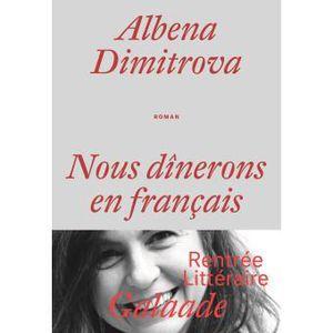 Nous dînerons en français d'Albena DIMITROVA