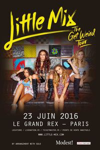 Little Mix en concert à Paris! Evenement!