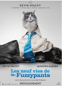 Kevin Spacey en chat! Le nouveau film loufoque de Barry Sonnenfeld
