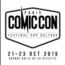 Compte à rebours lancé pour le lancement de Comic Con Paris 2016