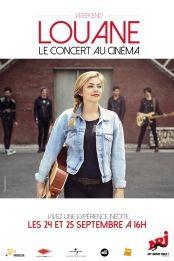 Louane en concert dans les cinémas