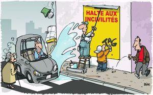 Les incivilités au travail...