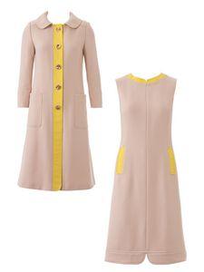 Tailleur robe-manteau