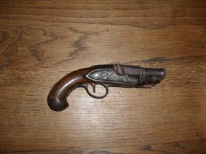 Pistolet ancien de collection