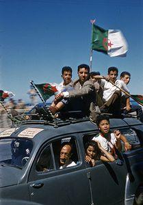 L'INDEPENDANCE DE L'ALGERIE, 3 JUILLET 1962