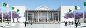 Le nouveau siège du Parlement algérien.