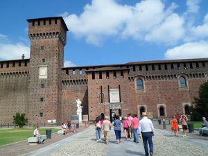 Carnet de voyage, Milan et son château