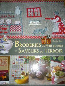 le temps des livres # 34 - broderies et saveurs du terroir