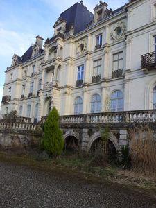 Le château de St Gervais la Forêt