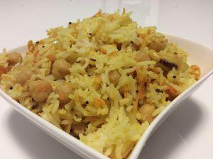 Riz à la carotte