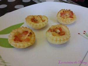 Feuilletés tomate-chévre