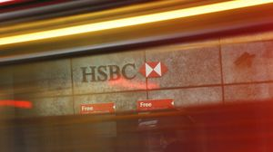 Un établissement HSBC à la City, à Londres