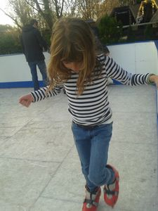 Il patinera aussi mon cher !